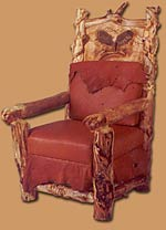 Wood Carved Chair
