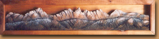 Horn Mountain Living - Shadow Box - Mountain Shadows