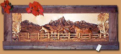 Horn Mountain Living - Shadow Box - Strolling