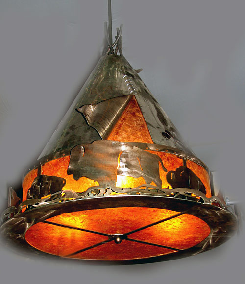 Horn Mountain Living - TeePee Light