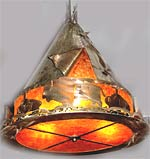 TeePee Lamp - Horn Mountain Living - TeePee Light
